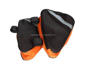Custom 600D polyester durable triangle motorcycle tool bag