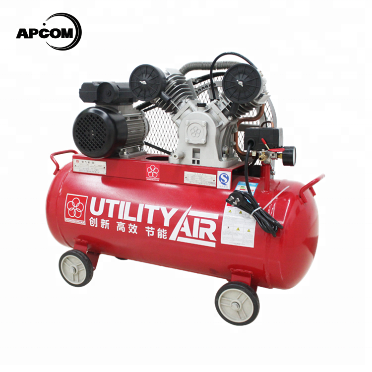 APCOM Belt drive 2 hp 2hp 미 테크 피스톤이 air compressor 한 상 1.5 kw 1.5kw air compressor