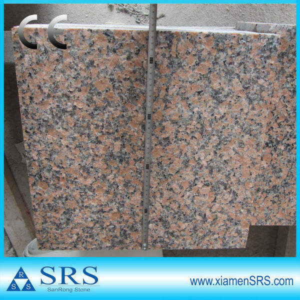 Maple red G562 unpolished granite tiles