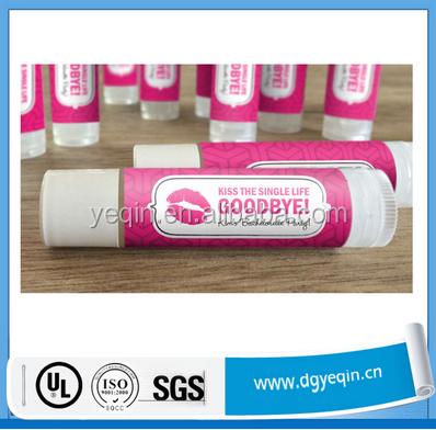 China fabrik benutzerdefinierte Lippenstift aufkleber label, wasserdichte lippenstift label, lippenstift etiketten