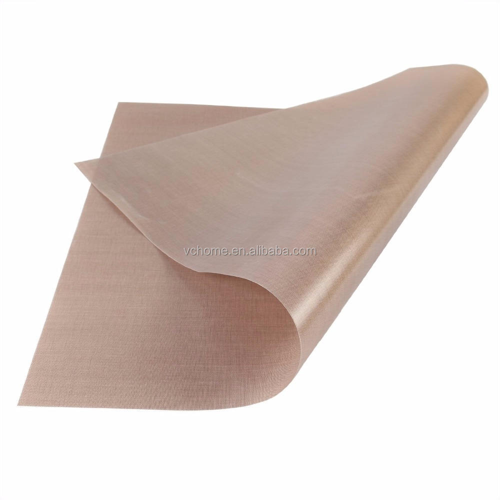 China High Quality High Temperature PTFE Sheet PTFE Glass Fiber Non-Sticky PTFE Sheet For Heat Press