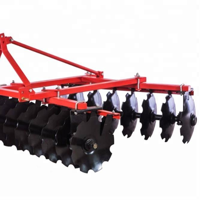 Agriculture small tractor mounted disc harrow for sale