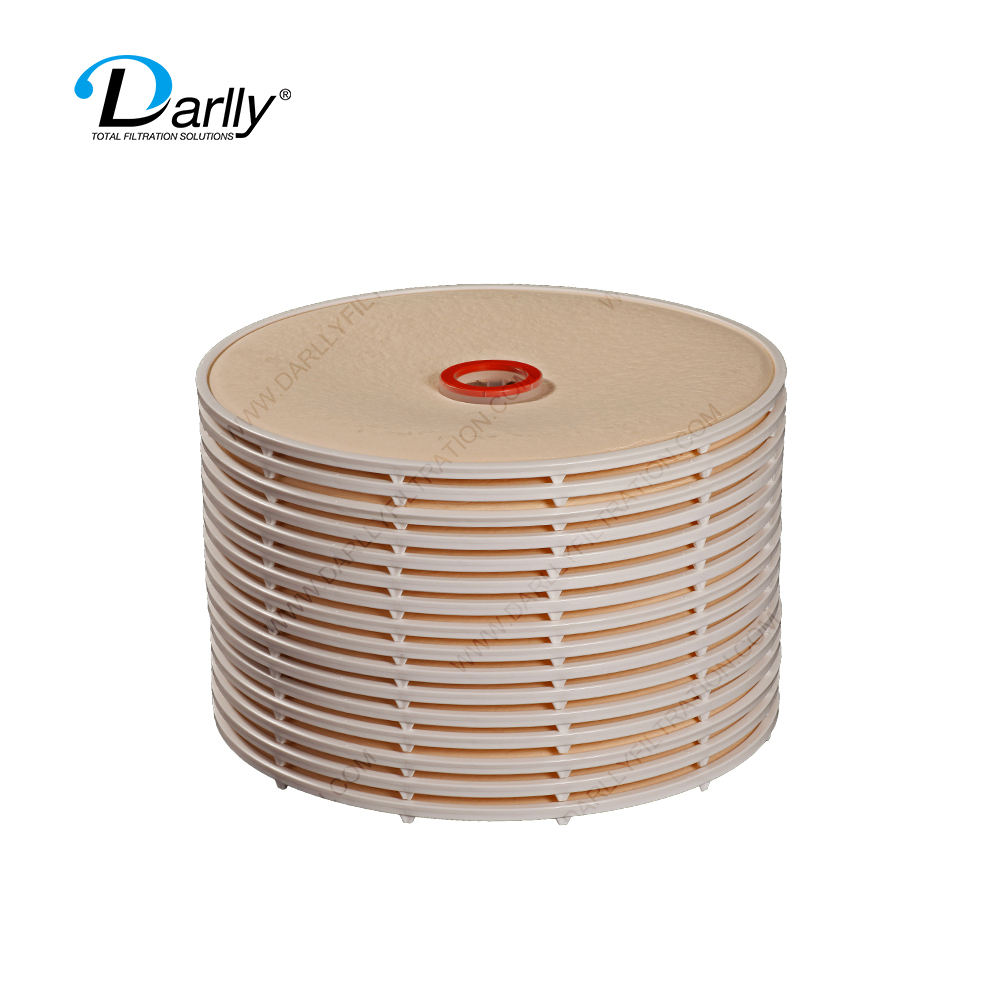 Depth Stacked Lenticular Stainless Steel 316/ 304 Disc Filter Housing