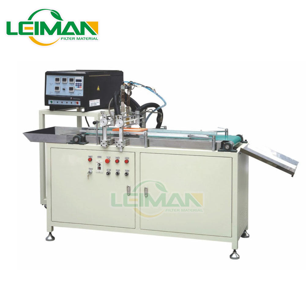 PU car air filter producing machine PLFJ-2 Panel Air Filter Gluing Machine