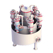 Large Capacity Krebs Hydrocyclone Filter Industrial Cyclone For Mineral Processing