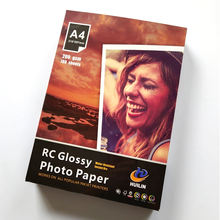 260 gsm 4R inkjet 4X6 high glossy RC photo paper for photo printing
