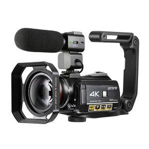 AC3 4KUltra HD Infrared IR Night Vision WifI APP Conference Digital Video Camera