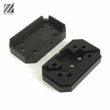 China manufacturer custom OEM cnc turned service plastic pom nylon parts and cnc milling plastic small part