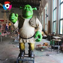 SH-RC052 Resin robotic carton character life size shrek