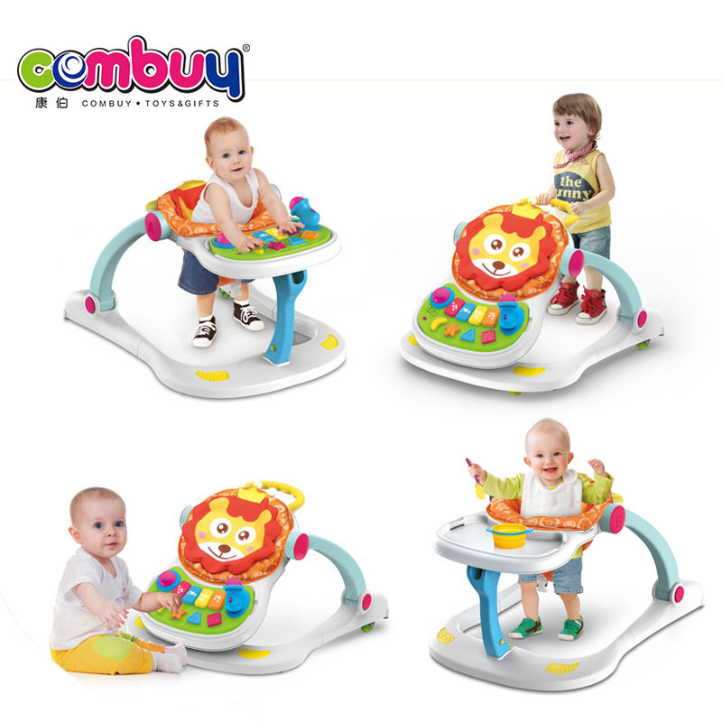 Top sale cartoon toys 4 in 1 new model baby walker multifunction