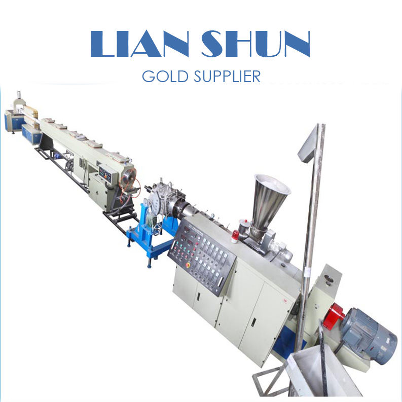 High efficiency lianshun PVC plastic pipe Extrusion Machine/pipe making equipment