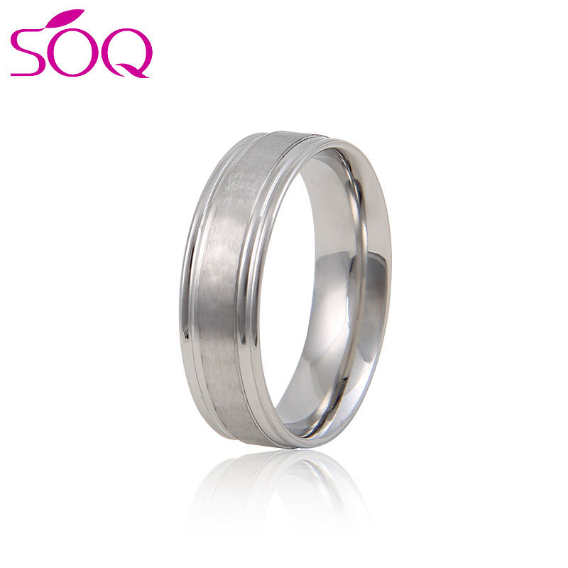 Wholesale Price Fashion Gold Silver Jewelry Stainless Steel Tat Ring For Men