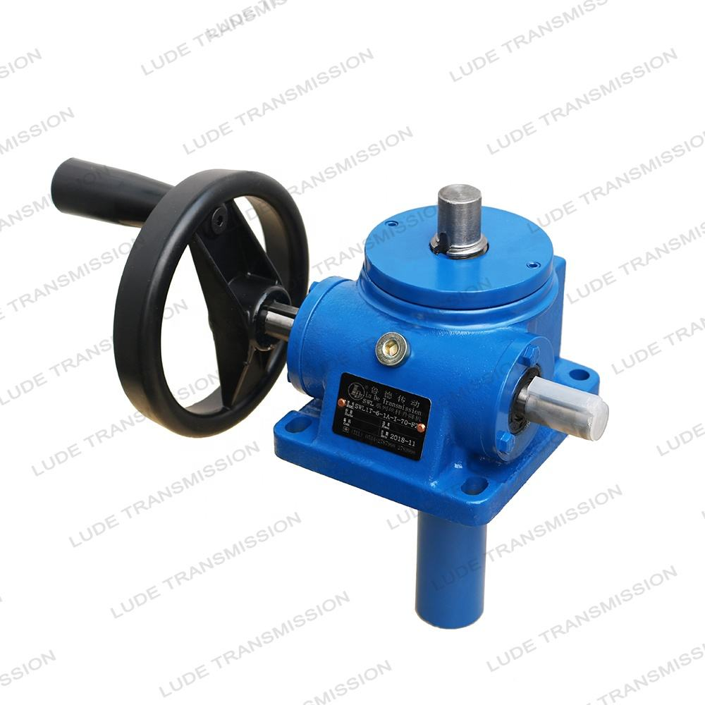 2.5 ton manual screw jack with rod end assembly