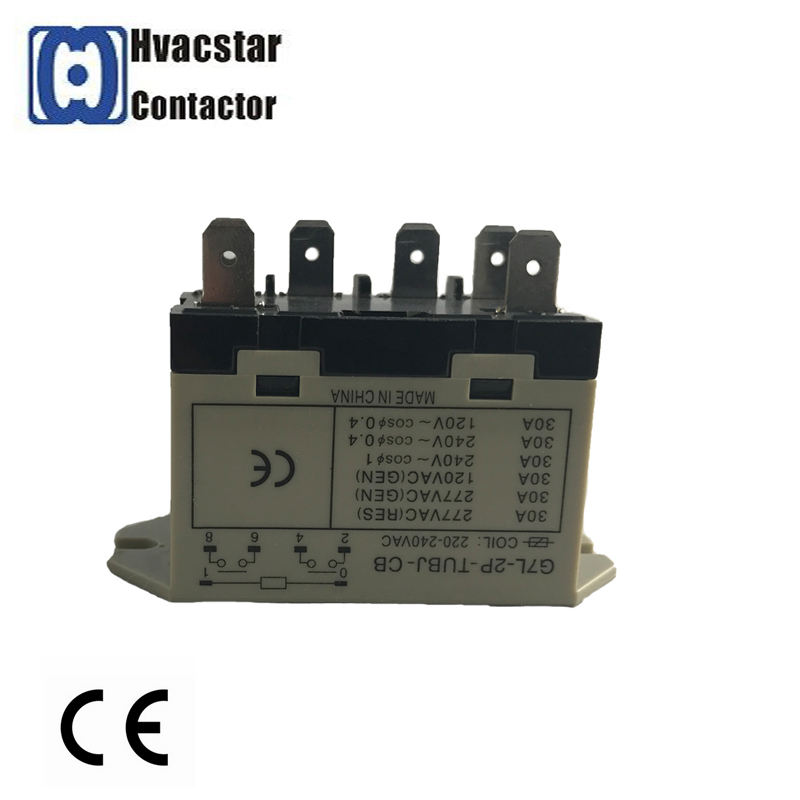 Best Quality Air-Con Relay 1p 2p AC Electrical Relay with Ce Certificated