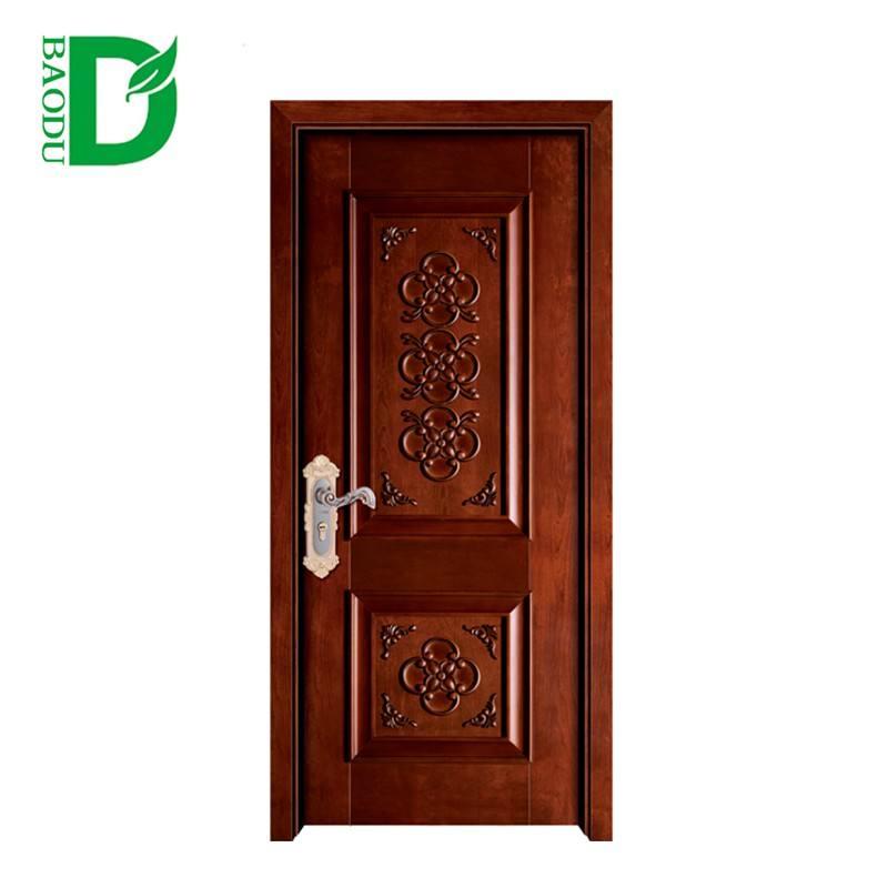 Chine moderne <span class=keywords><strong>acoustique</strong></span> intérieur solide porte en bois