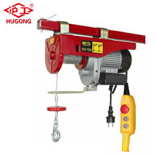 Construction Hoist PA400 Mini Electric Hoist With Trolley