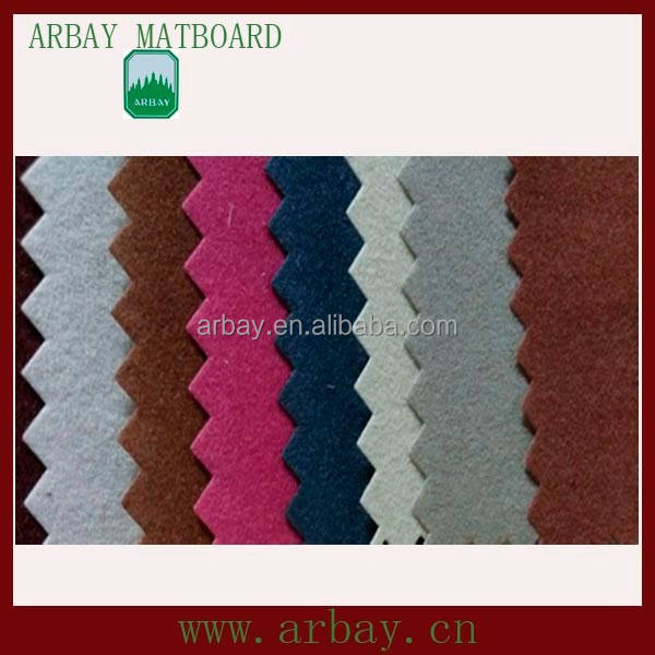 High quality custom wholesale velvet matboard for decorative picture frames