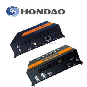 Hondao H.265 H.264 IPTV энкодер с 1CH HD ми и AV over ethernet Интернет