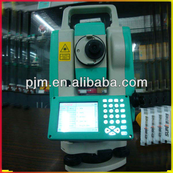 top verkoop china gemaakt 300 meter reflectorloze lage prijs total station rts-862r/rts-862 topografie 862 total station