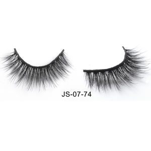 Natural looking 100% hand made slim and thin fiber 3D faux mink 25mm lashes private label eyelashes