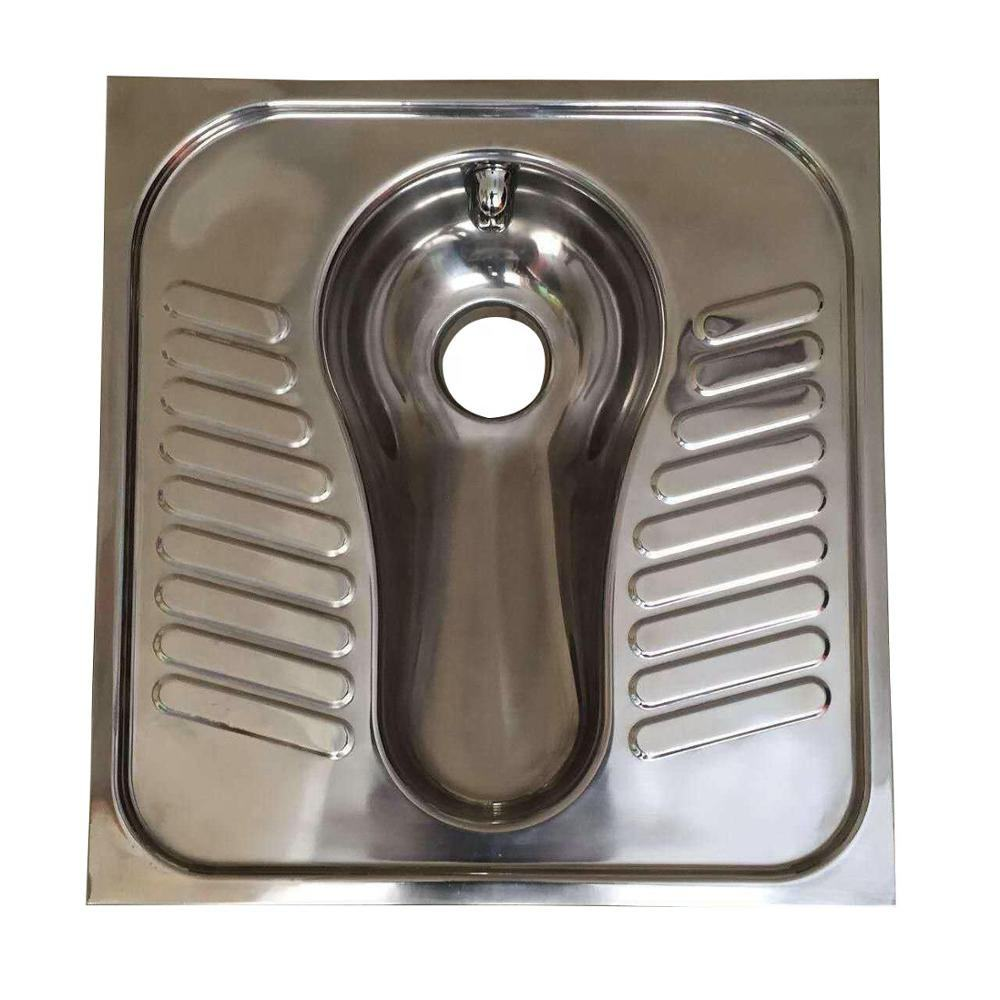 stainless steel toilet urinal stainless steel squatting pan