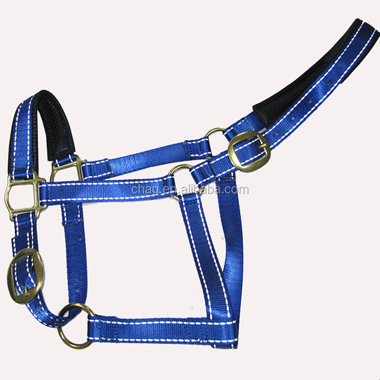 Waterproof Reflective Nylon Horse Halter All Colors Available
