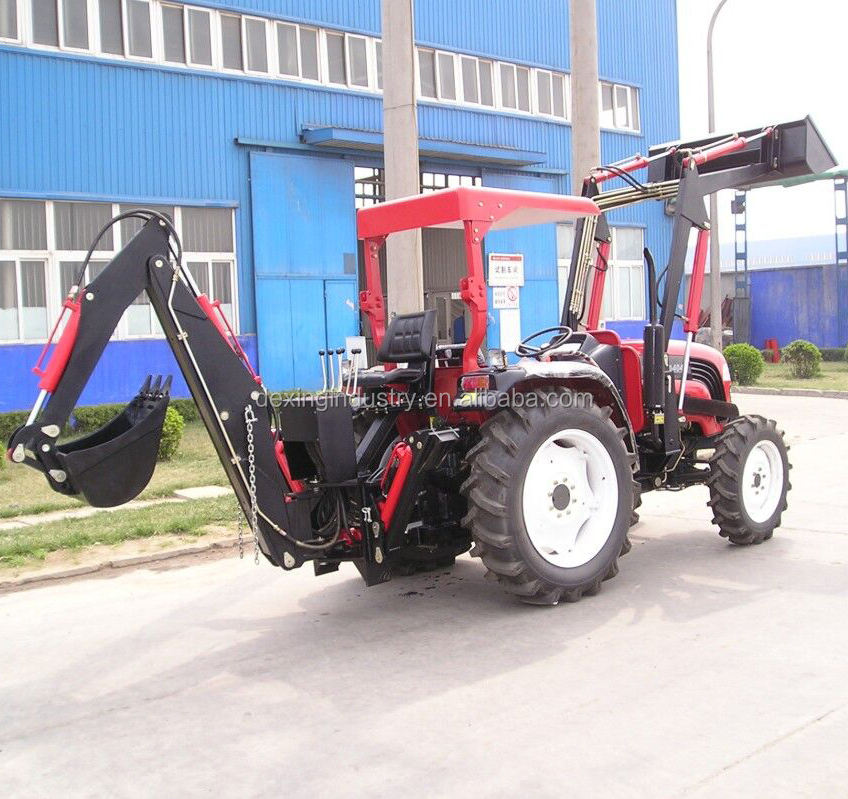 Factory Price small farm tractor with attachments