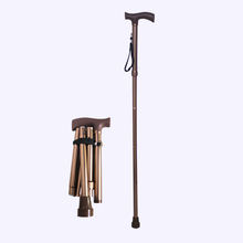Aluminum alloy foldable cane china folding walking stick