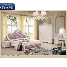 Multi-purpose High-class princess king size bedroom