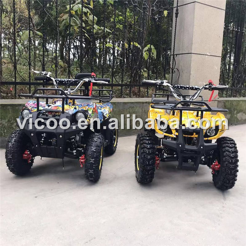 Four Wheel Motorcycle 50cc quad bike kids wheeler Atv