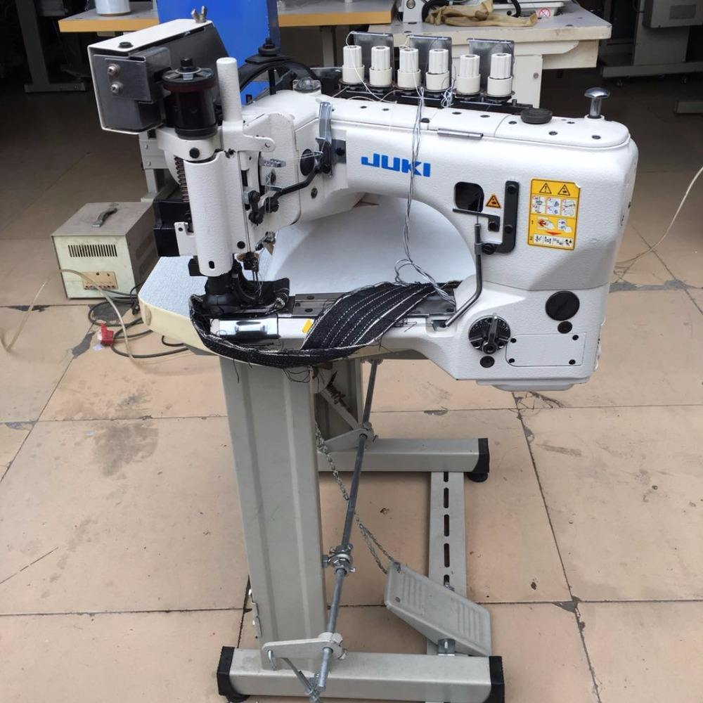 Original used Juk i MS-3580 Feed-off-the-arm, 3-needle Double Chainstitch Machine in good condition