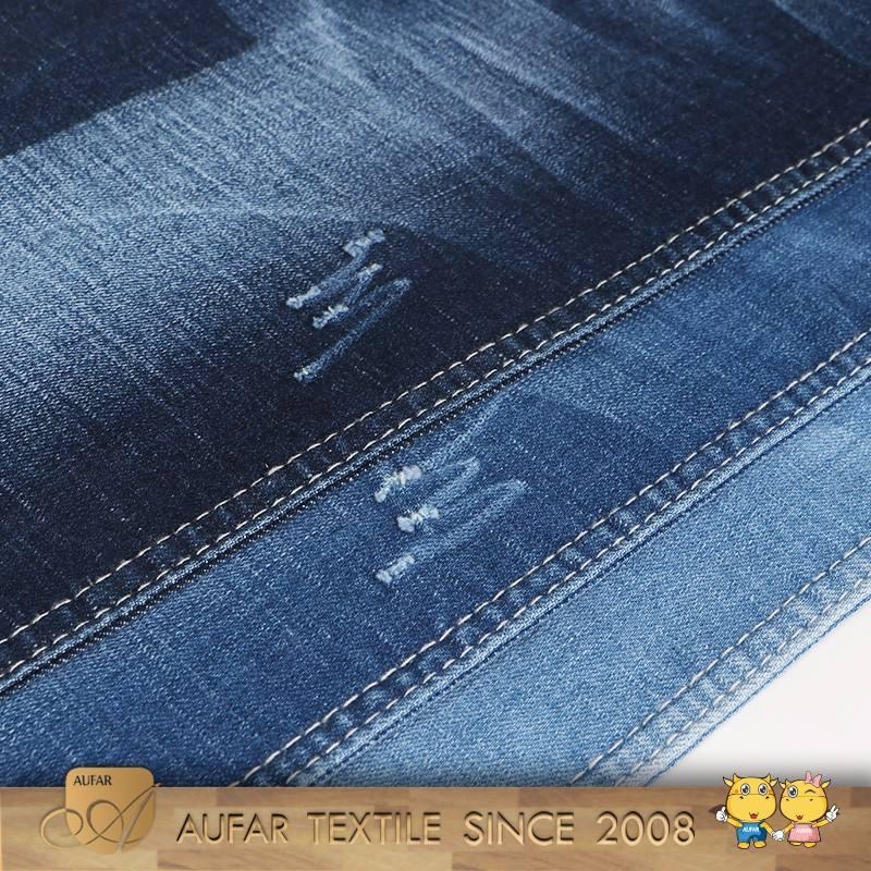M145Best calidad textil estiramiento al por mayor precios Denim fabric13 oz Denim Jean tela spandex tela de algodón