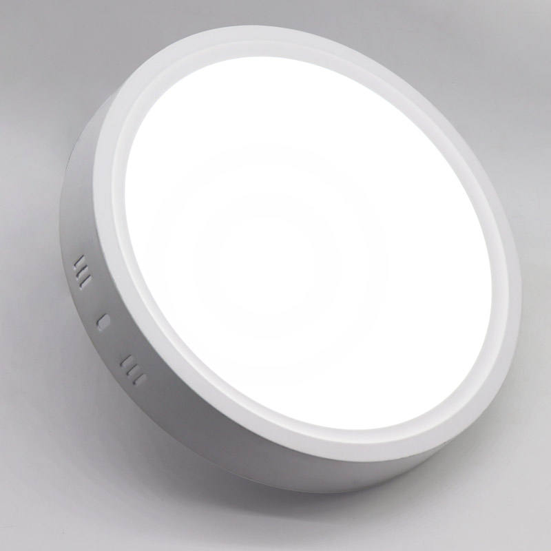 CE RoHs ISO9001 18 w ronde led-paneel celling licht met ce rohs saa