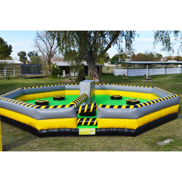 Turning obstacle cheapest crazy adult inflatable sport game