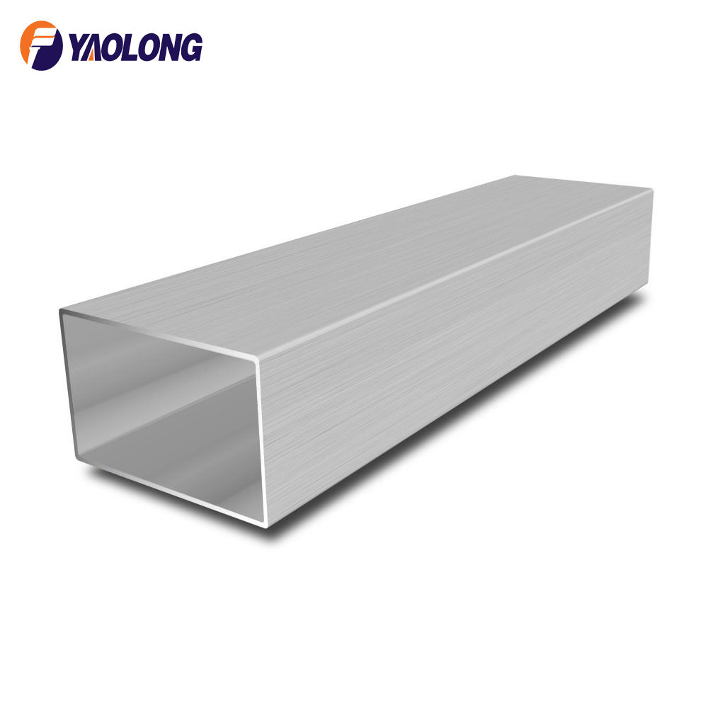 factory wholesale price 304 316L stainless steel square tube handrail for stairs