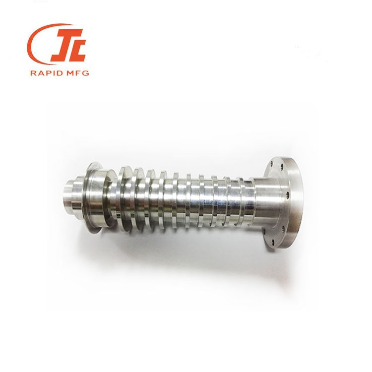 cnc turning drawing parts aluminum cnc turning milling round communication parts