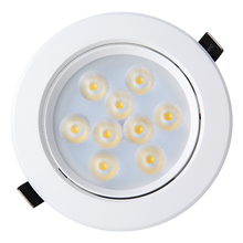 Wholesale Led Recessed Ceiling Spotlights 9w Indoor Shop Office IP44 round spot light