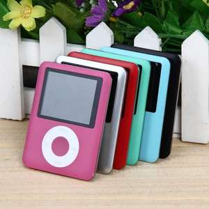 1,8 inch LCD Screen 2019 MP4 Player MP3 Digital 4GB Video Musik MP4 Player