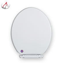 wholesale white European standard round easy install toilet seat lid