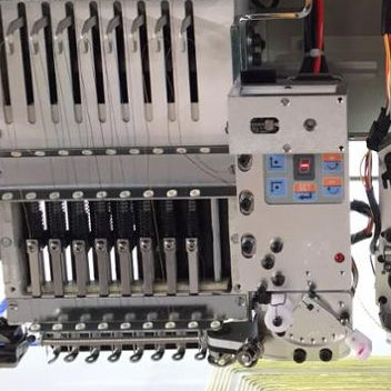 Second Hand Embroidery Machine OLH Cording device