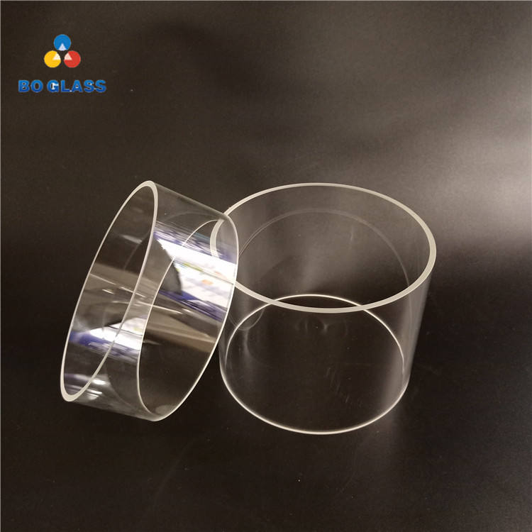 Fast Delivery Borosilicate 3.3 large Diameter Heat Resistant Glass Tube