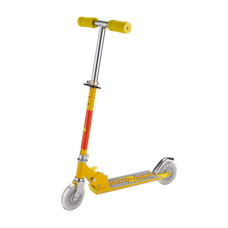 Fashion eco-friendly material two wheel kick scooter