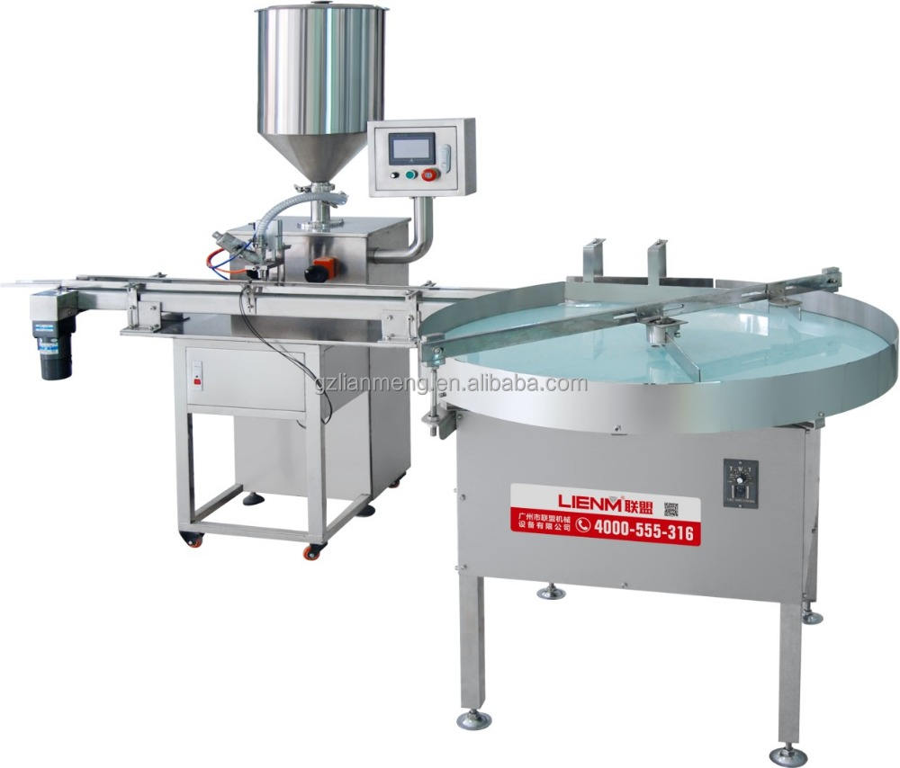 Single Head Cream salbe <span class=keywords><strong>Jar</strong></span> Filling Machine Container Filling Machine