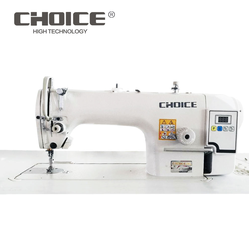 GC9000D Single Needle Direct Drive Sewing Automatic Sewing Machine Cheap golden wheel sewing machine