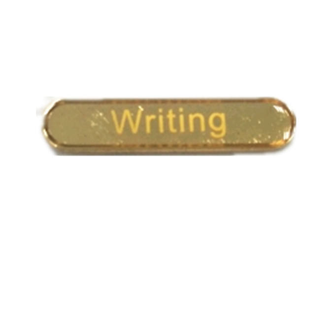 Wholesale Personalized Writing Captain Enamel School Bar Badge