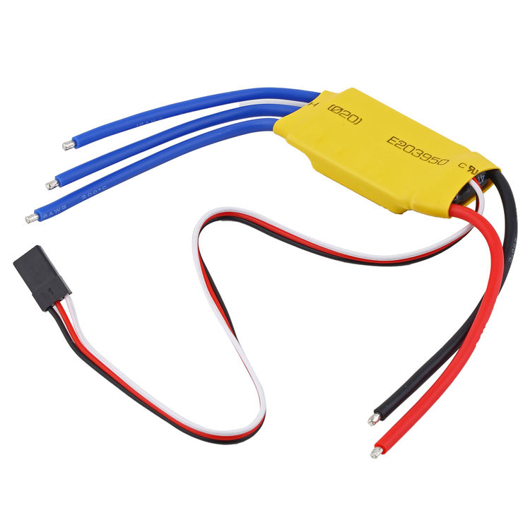 XXD HW30A 30A 40A 60A 80A ESC Brushless Motor Speed Controller RC ESC for FPV Drone Helicopter Boat