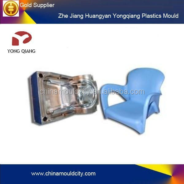 Hot sell plastic injection adult armrest chair mould maker/ mould supplier