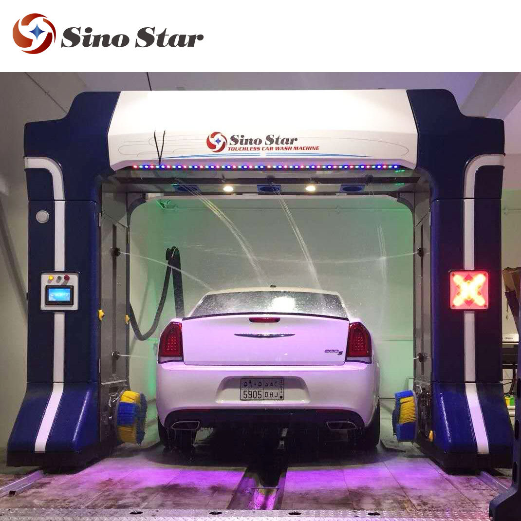 Good price 자동 롤오버 무 브러시 car wash 기계 와 포밍, waxing 및 drying systems S7-C