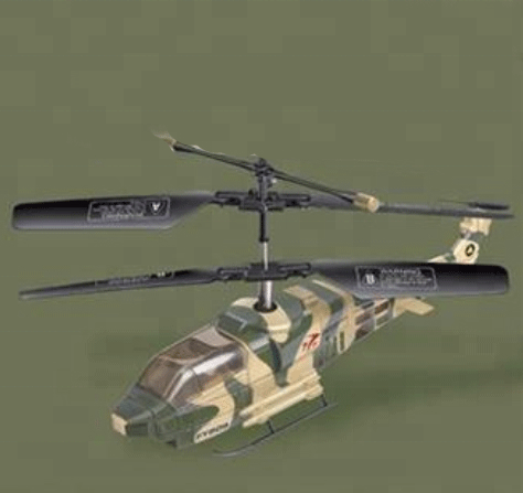 Apache Mini 3ch rc helicopter with gyro