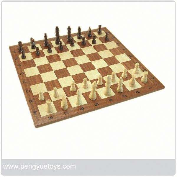 pys015 New arrival , wooden 3 in 1 chess&backgammon game box
